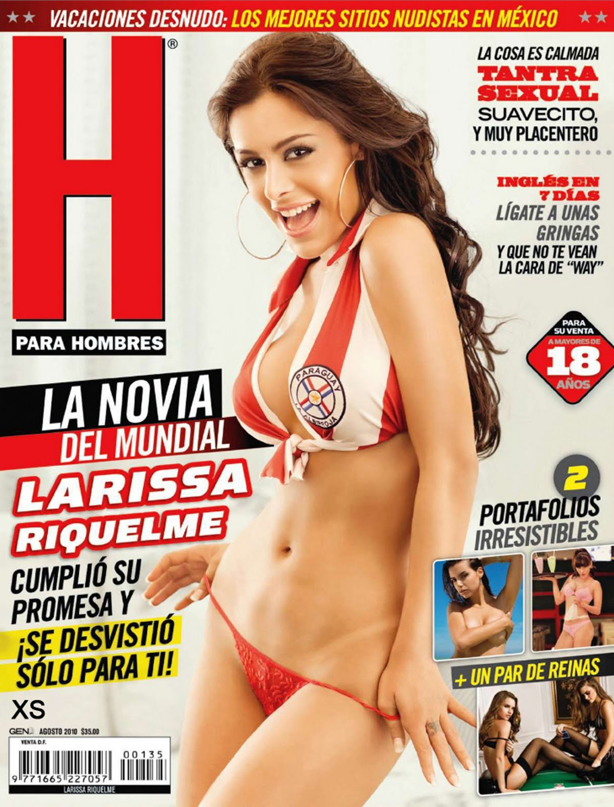 Larissa Riquelme, gallery model