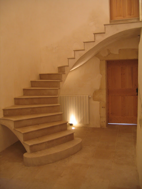 Escalier en voute sarrasine