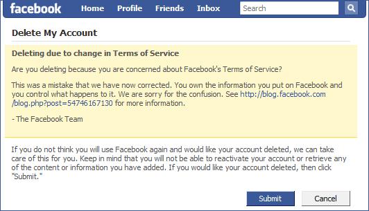 Cara Menghapus Facebook dengan Cepat