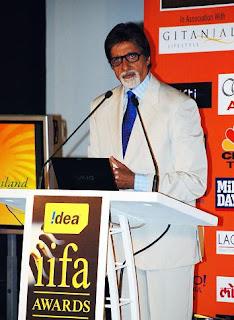 Amitabh Bachchan IIFA at Sri Lanka