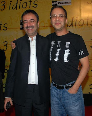 RajKumar Hirani and Vinod Chopra