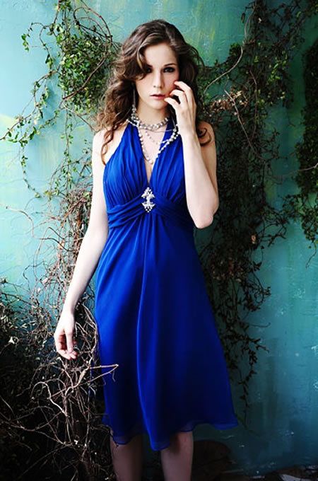 Blue Bridesmaid Dresses Blue bridesmaid dress is one color that can draw