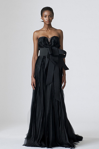 Wedding Bridesmaid Dresses 2011 Evening Black Wedding Bridesmaid Dresses