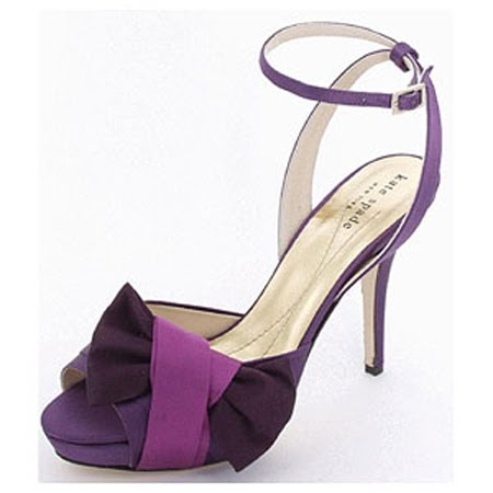 Purple Shoes on Gorgeous Purple Bridal Shoes