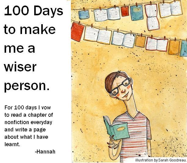 100 Days to make me a wiser person