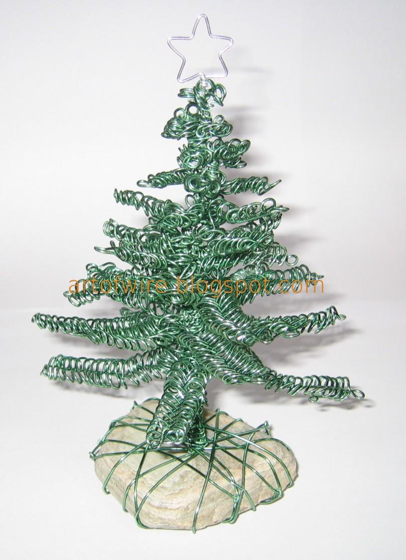 wire tree wire christmas tree - Wire Christmas Tree