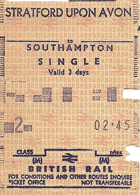 stratford theale train tickets