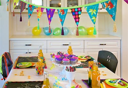 Украсить комнату ко дню рождения своими руками фото