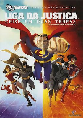 Liga Da Justiça: Crise Em Duas Terras - DVDRip Dual Áudio