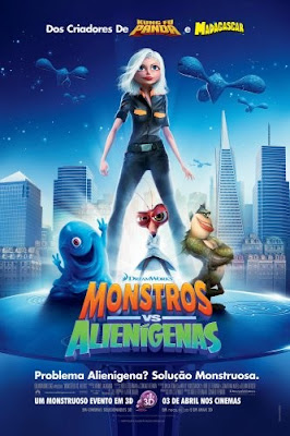 Monstros+Vs+Alien%C3%ADgenas Download Monstros Vs. Alienígenas   DVDRip Dual Áudio