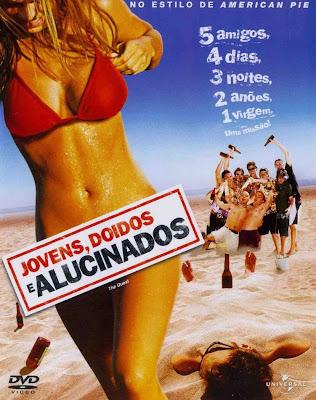 Filme Jovens, Doidos e Alucinados DVDRip RMVB Dublado