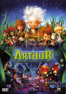 Arthur e a Vingança de Maltazard - DVDRip Dual Áudio