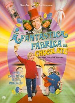 A Fantástica Fábrica de Chocolate - DVDRip Dual Áudio