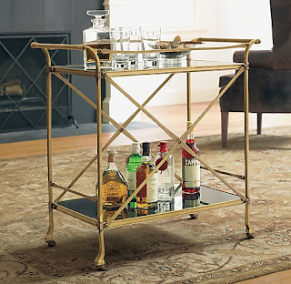 BAR CARTS-9 tips for a well stocked bar