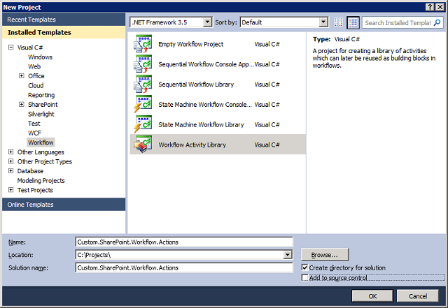 Create custom workflow action in SharePoint 2010   SharePoint share ...