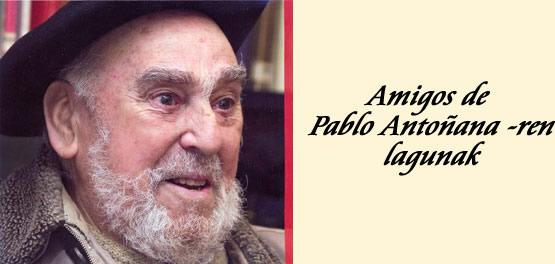 Amigos de Pablo Antoñana - ren lagunak