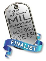 Third Annual Milbloggies Finalist