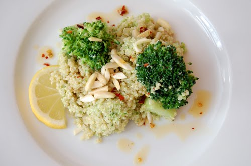 Hmong Can Cook: Double Broccoli Quinoa