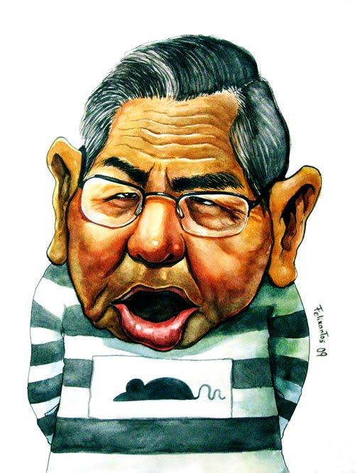 Image result for Alberto Fujimori CARTOON