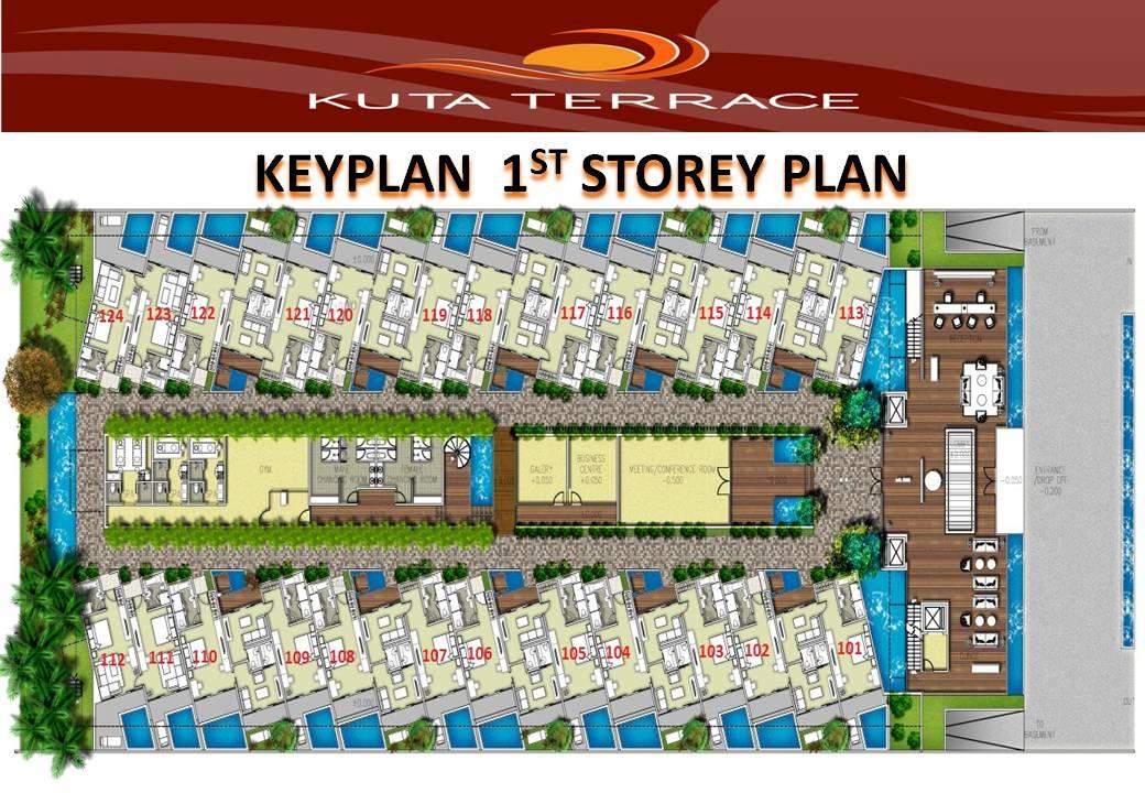 Kuta terrace for Terrace 8 residence kuta