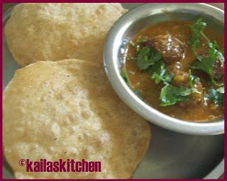 Yam Kofta Curry