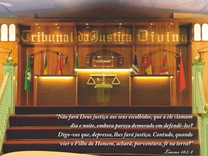 A JUSTIÇA DE DEUS NAO FALHA