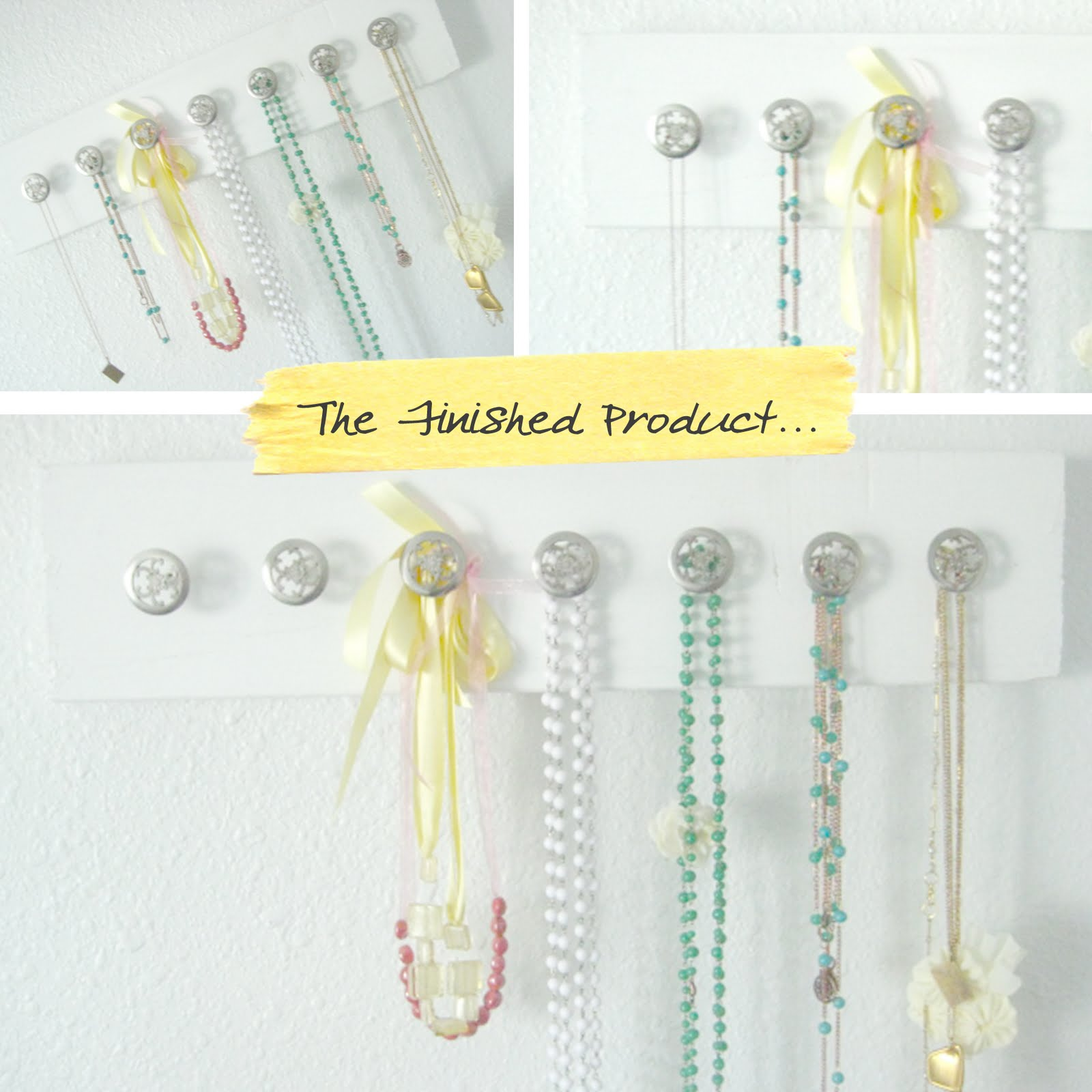 in honor of design thursday s diy jewelry hangers