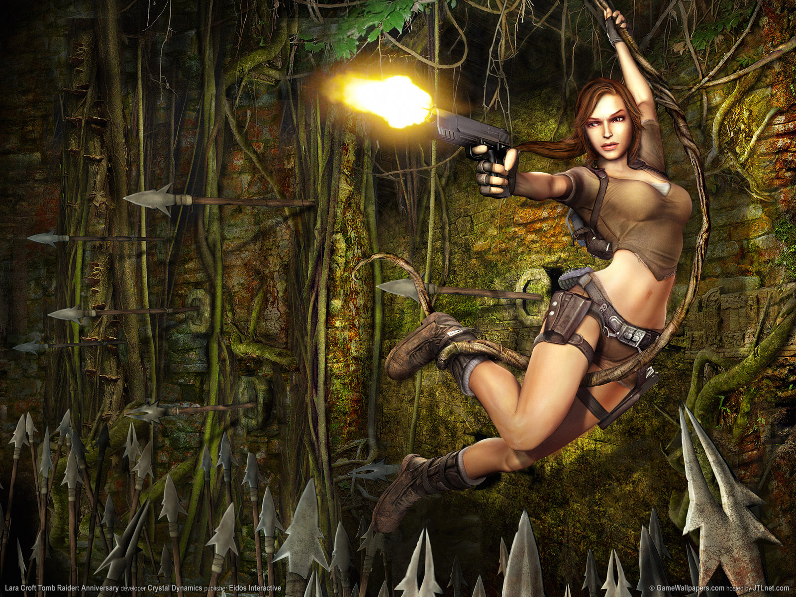 Tomb Raider HD & Widescreen Wallpaper 0.979660445705434