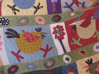 Quilting Blog - Cactus Needle Quilts, Fabric and More: Spring Chickens : chicken quilt pattern - Adamdwight.com