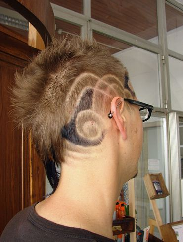 Hair tattoo. Posted by StyliStic at 10:42 PM
