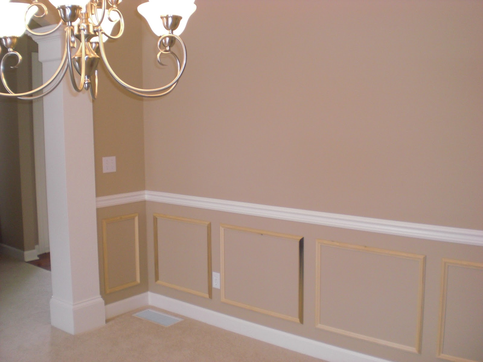 Karen At Home DIY Wainscoting