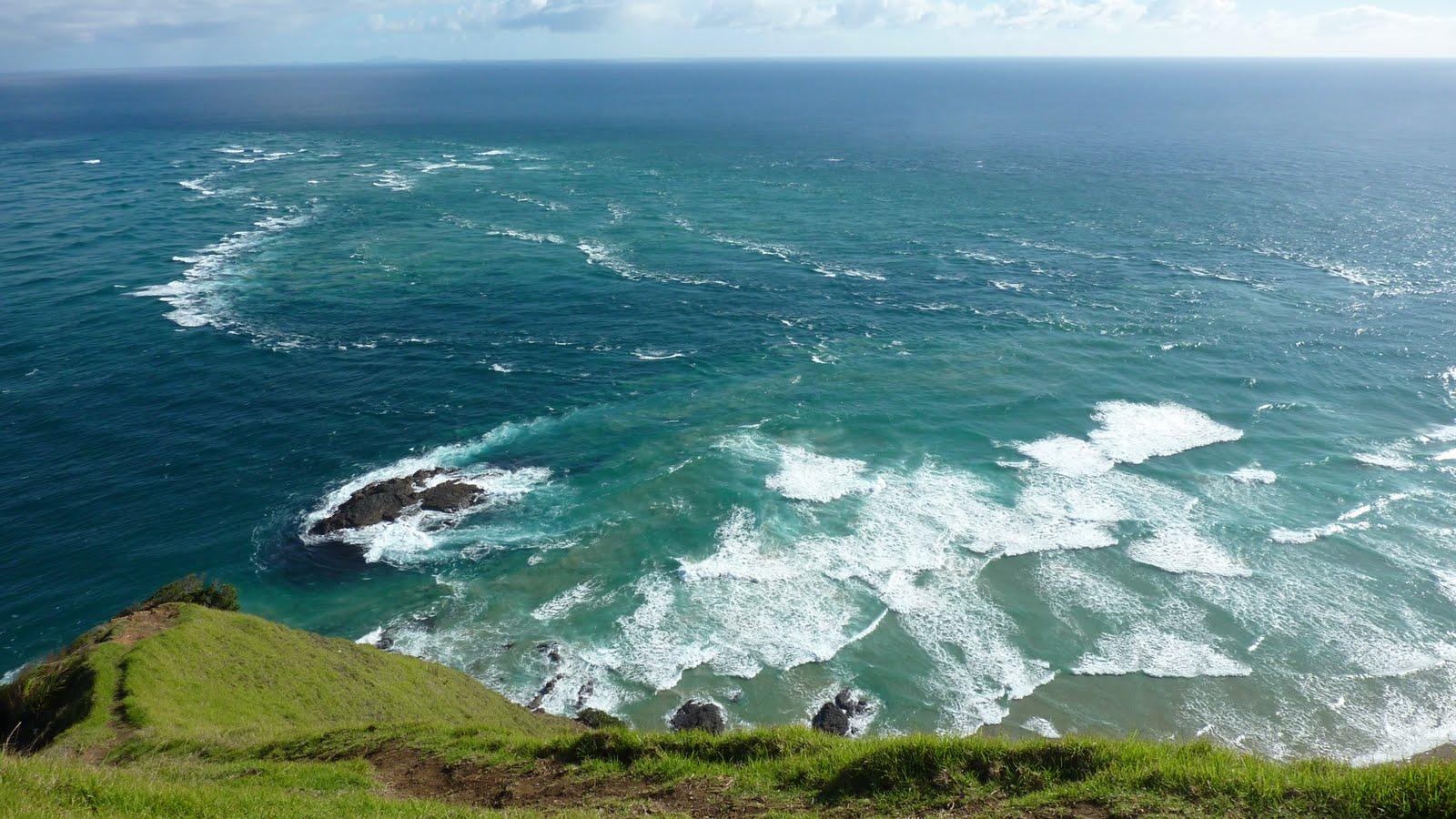 zwei ozeane treffen aufeinander