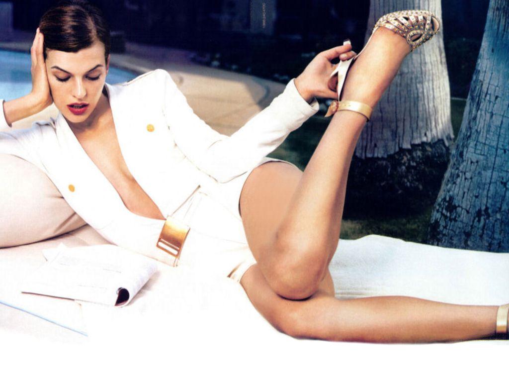 Liked mila jovich naked