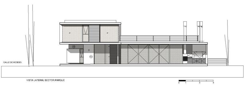 Casa del gallo en pilar jsz arquitectos tecno haus - Planos de arquitectos ...