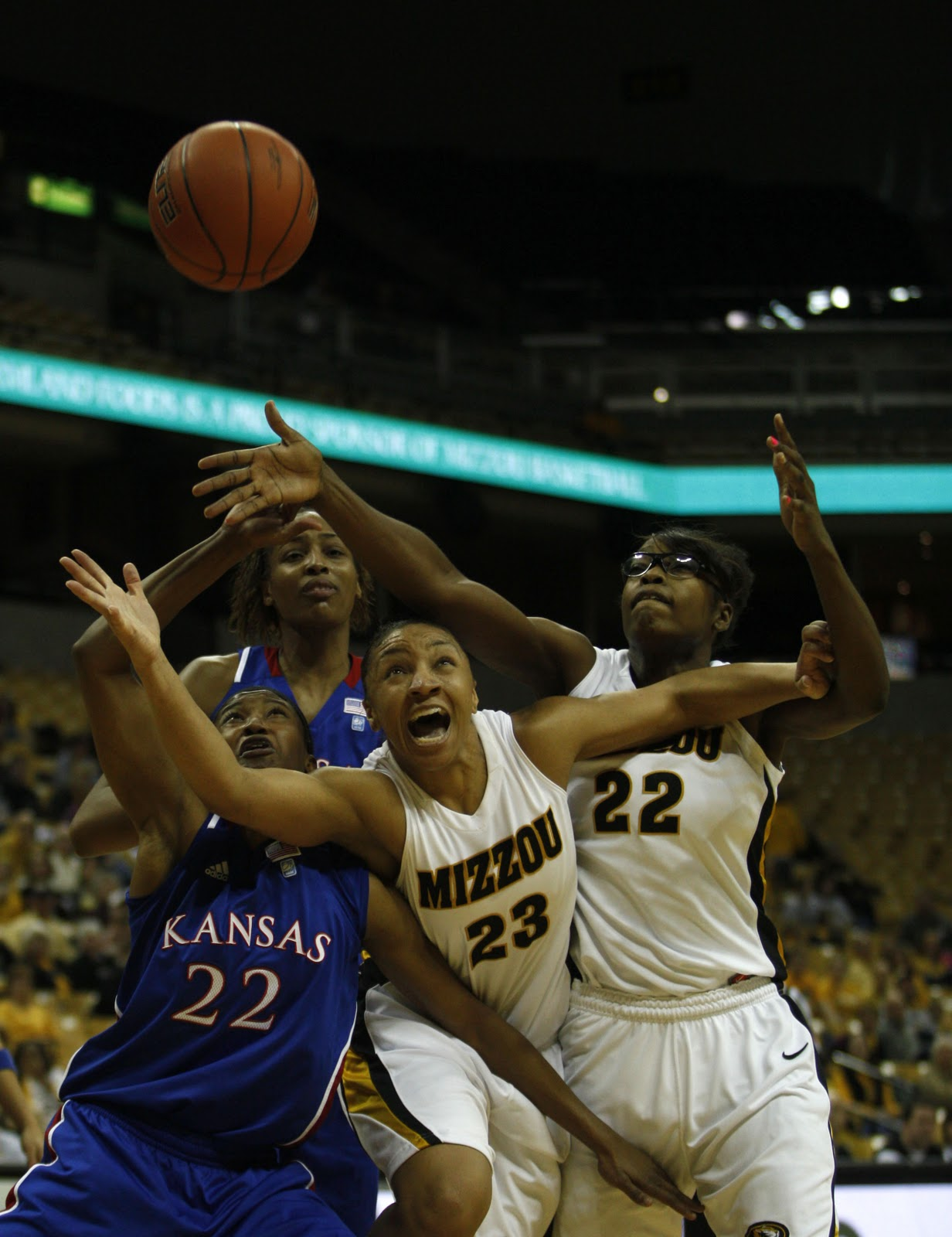 Sarah Hoffman Photo: Mizzou Women's Basketball vs. Kansas