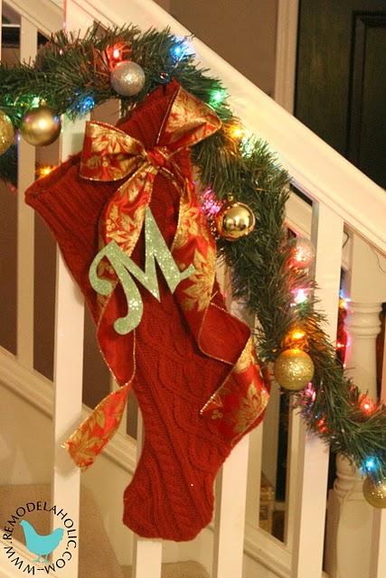 Just Blenda Homemade Christmas Stockings