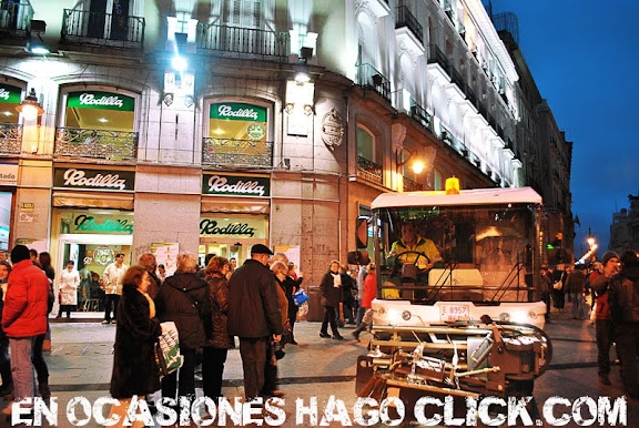 La ciudad de Madrid en Navidad
