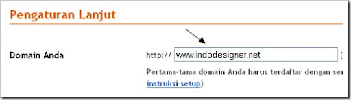 Permasalahan Custom Domain di Blogger | Custom Domain