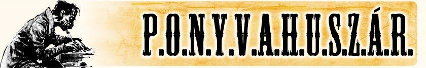 Ponyvahuszár Blog