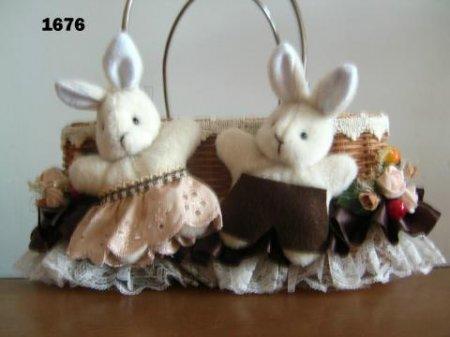 Keranjang 2 Kelinci