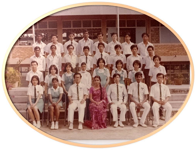 Form 5A Sek.Men.Dato' Hj. Hassan Yunos, Renggam, Johor, 1977