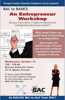 Yavapai County Business Assistance Center Offers Workshop
