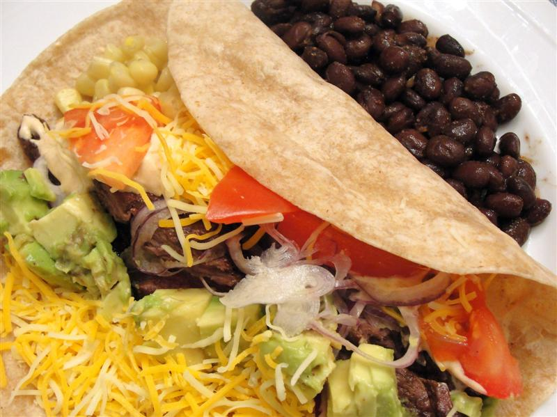 ... always thyme to cook...: Skirt Steak Tacos with Spicy Sour Cream
