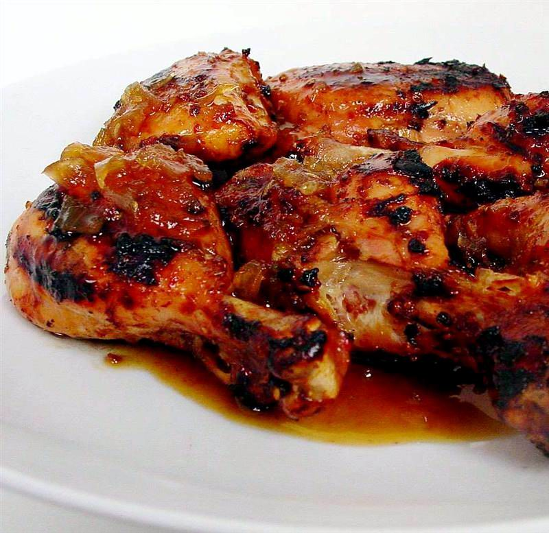 Tequila-Glazed Chicken With Jalapeno Recipe — Dishmaps