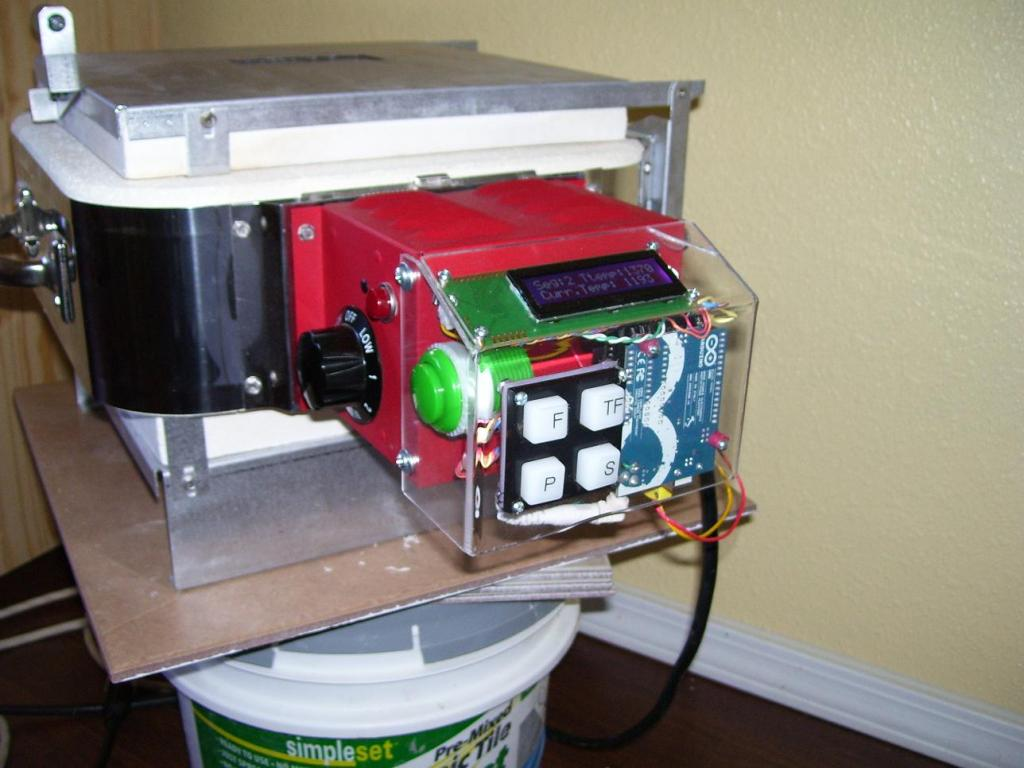 Unfold Fab Kilns Part 1 Openkilncontroller Your First Digital To Analog Converter Build Hackaday Update While Typing This Post I Revisited The Forum Thread Mentioned Above And Apparently Glennd Did A Kiln Controller For Glass Fusing