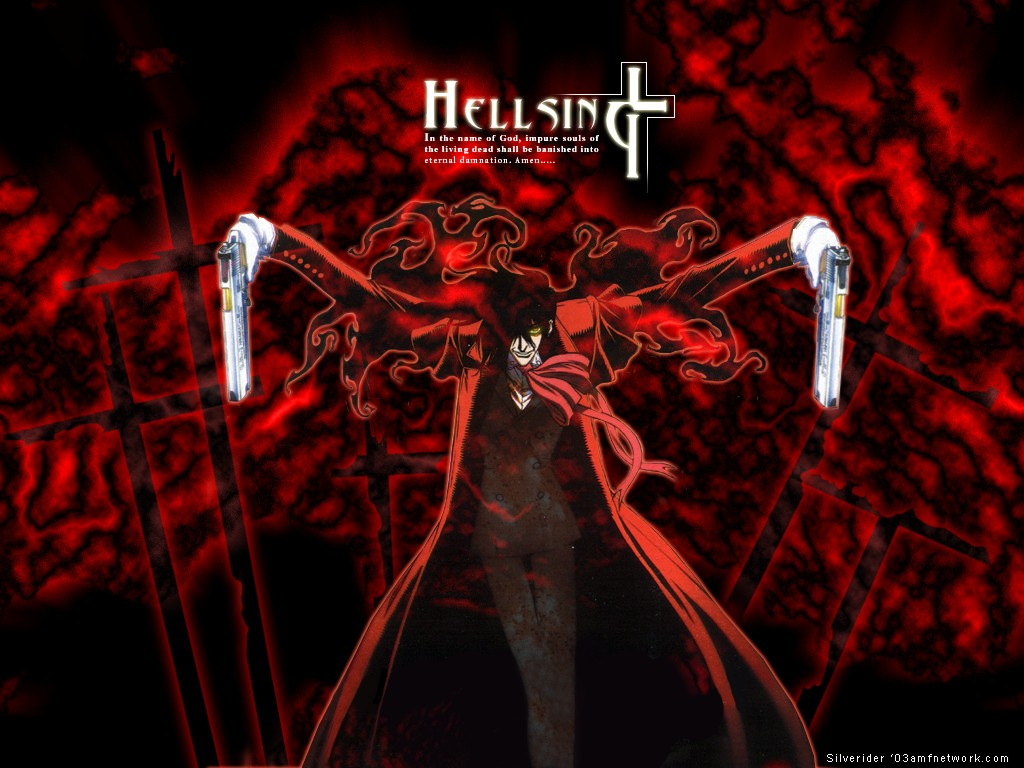 Anime Hellsing Ultimate Alucard