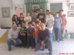 Monitores del sexto concuso ajedrez nueva andalucia Rafael caceres y concepcion Camacho