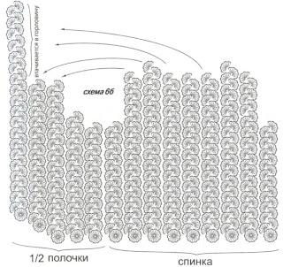 Схема вязания 6б