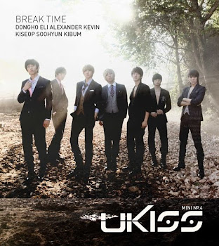 "HELLO KISSME's! It's U-KISS Comeback 4th Mini Album ""Break Time"" Support and Share The U-Kiss Love!"