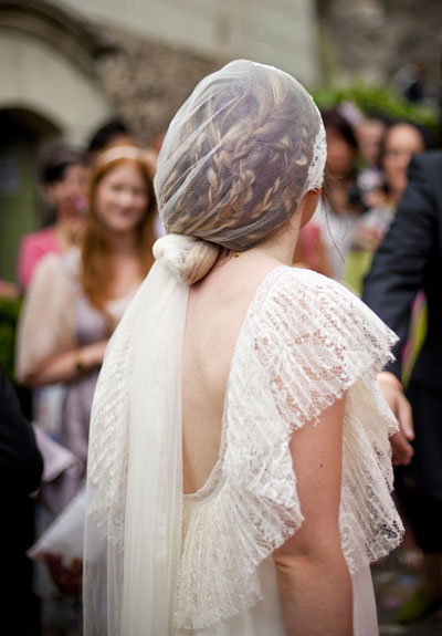 French wedding veil